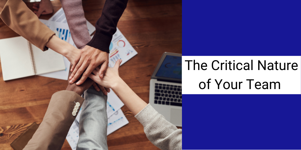 The Critical Nature of Your Team