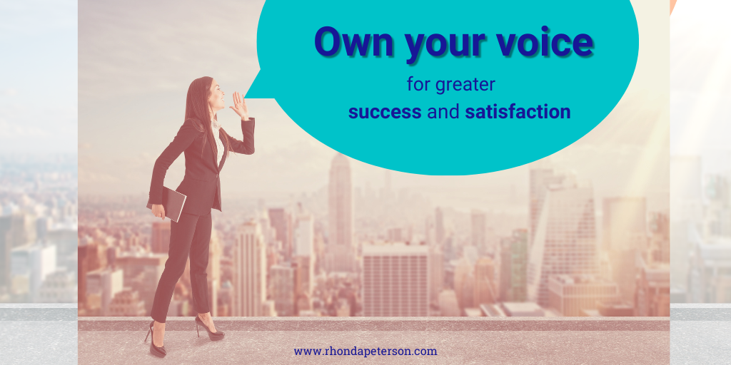 own your voice for greater success and satisfaction-3